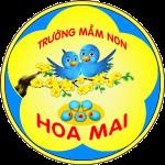 Logo trường mầm non hoa mai
